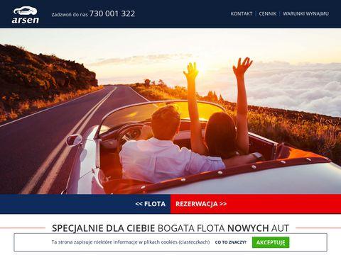 Arsen.net.pl wynajem samochodów