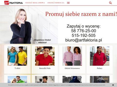 Artfaktoria.pl atrakcyjna odzież promocyjna