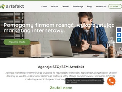 Artefakt.pl agencja