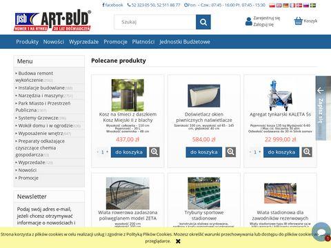 Artykuły budowlane Artbud.pl