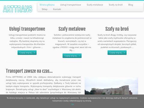 Arttrans usługi transportowe