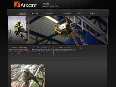Prace wysokościowe www.arkant.pl