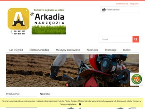 Arkadianarzedzia.pl