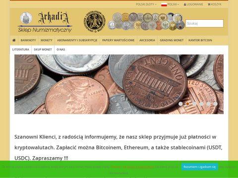 Arkadia-Sklep.pl - monety złote