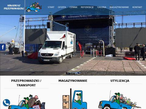 Przeprowadzki Gdańsk Bagażówka Gdynia