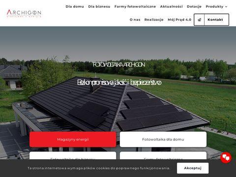 Archigon.pl projekty oświetlenia hybrydowego