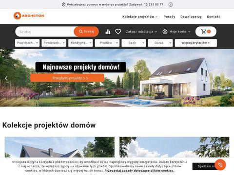 Projektowanie domów - Archeton.pl