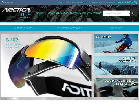 Arcticasport.pl gogle narciarskie