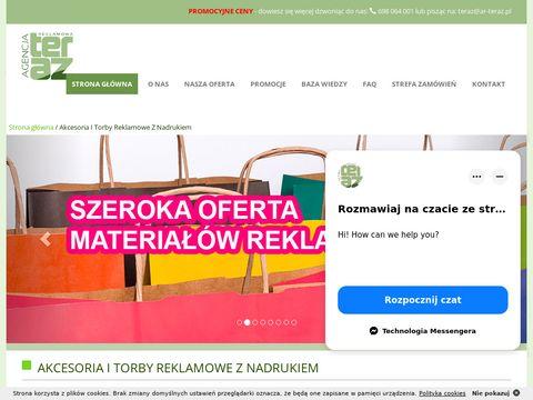 Ar-teraz.pl torby reklamowe