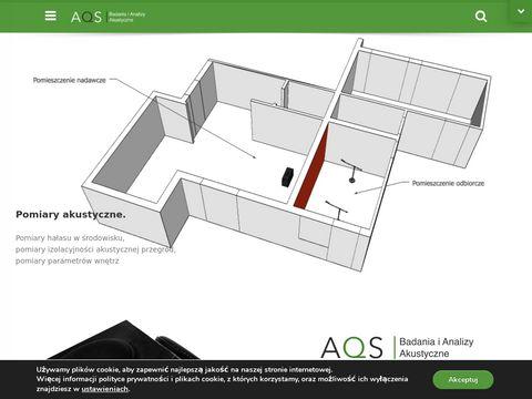 Aqs.com.pl pomiary izolacji akustycznej