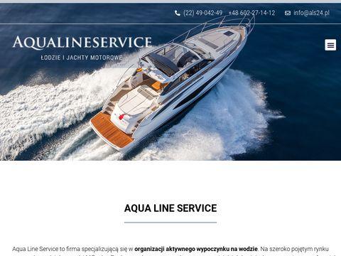 Aqualineservice.pl - wynajem łodzi motorowych