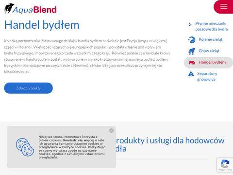 Pojenie cieląt aquablendpolska.com