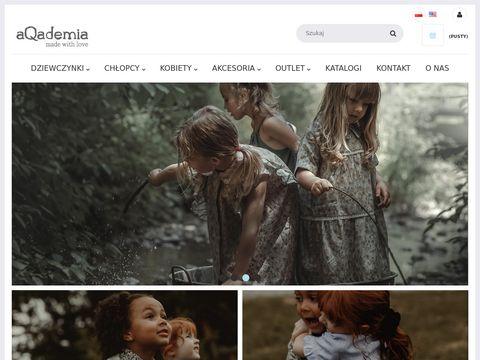 Aqademia.eu - ubranka dla dzieci