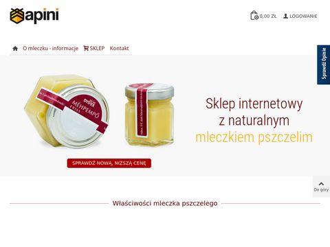 Apini.pl - mleczko pszczele