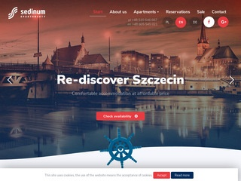 Nocleg Szczecin apartamentysedinum.pl