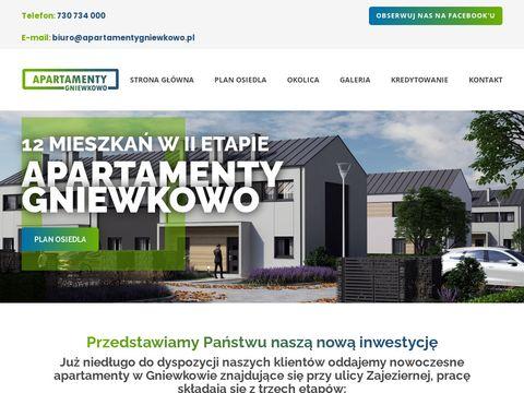 Apartamentygniewkowo.pl mieszkania na sprzedaż