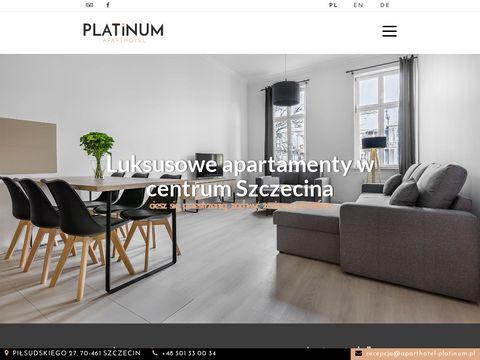 Aparthotel-platinum.pl - apartamenty w Szczecinie