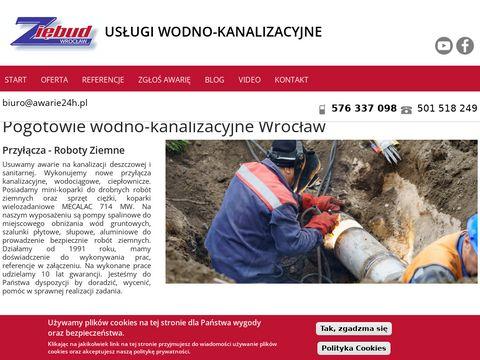 Awarie24h.pl czyszczenie kanalizacji