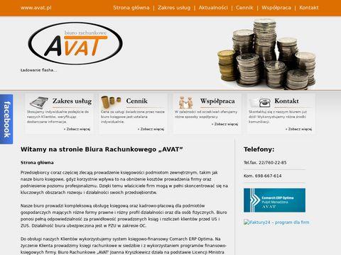 Avat.pl usługi księgowe