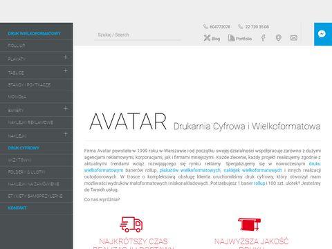 Tablice reklamowe - avatar.pl
