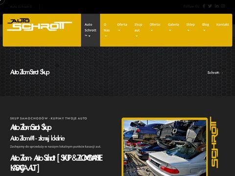 Auto-schrott.pl skup samochodów złomowanie