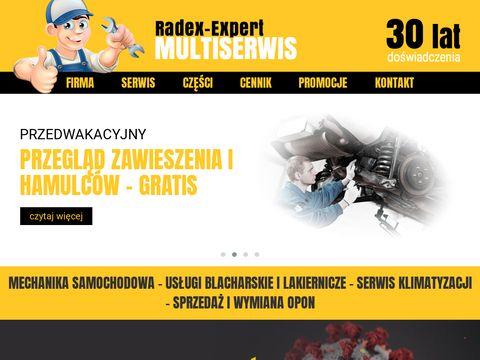 Radex Expert lakiernia Szczecin