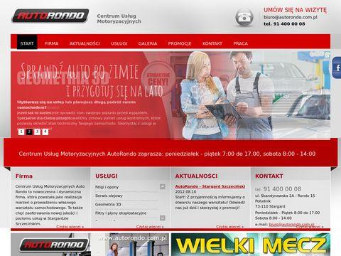 Auto Rondo Sp. z o.o. warsztat samochodowy
