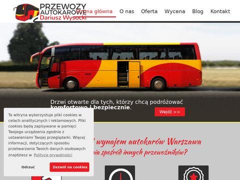 Autokarwarszawa.pl - transport osób