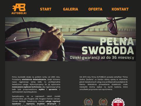 AutoBelki - tylna belka Citroen, Peugeot