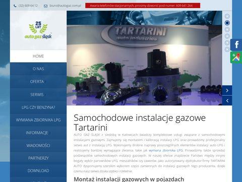 Auto Gaz Śląsk - montaż instalacji gazowych