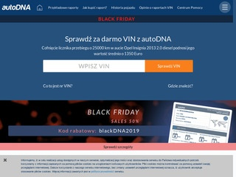 AutoDNA.pl - Dekoder VIN