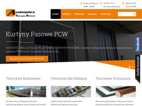 Audioplex.pl tworzywa sztuczne