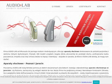 Audio-lab.pl - badanie słuchu Poznań