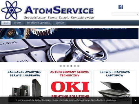 Atom Service naprawa komputerów