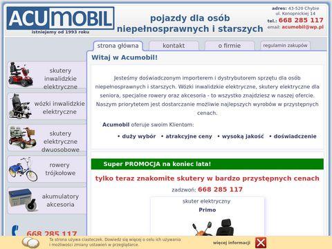 Acumobil.pl wózki inwalidzkie elektryczne