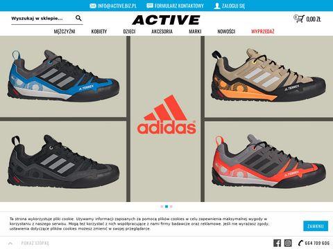 Active.sklep.pl z odzieżą sportową