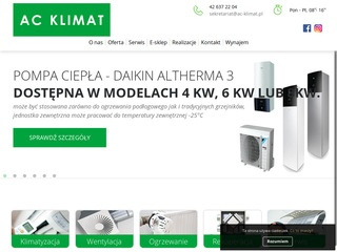 AC KLIMAT Montaż klimatyzacji Łódź