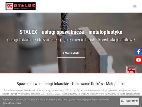 Stalex gięcie blach i usługi tokarskie CNC