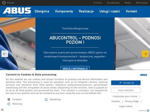 Abuscranes.pl wciągniki i wciągarki Abus