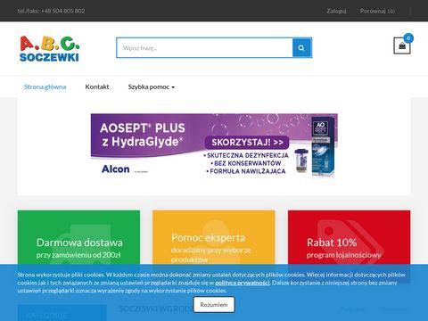 Abcsoczewki.pl kontaktowe miesięczne