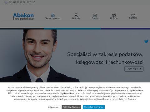 Abakon-rachunkowosc.pl podatki Kraków