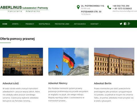 Aberlinus.eu - adwokat Maciej Łukaszewicz