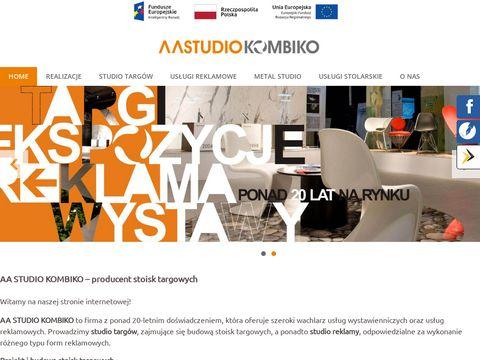 AA Studio Kombiko budowa stoisk
