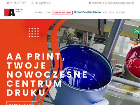 Firma poligraficzna AA Print s.c.
