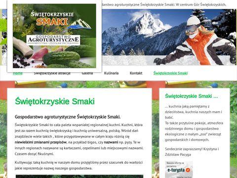 Agrowczasy.info Agroturystyka Góry Świętokrzyskie