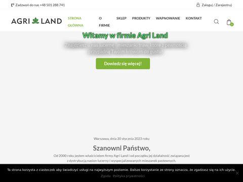 Agri Land - mieszanki traw