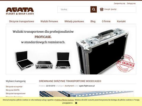 Agata Flight case - Kultowe skrzynie, kufry, walizki