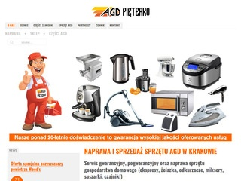 Agd-krakow.com - naprawa i serwis
