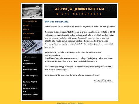 Aejulia.pl biuro rachunkowe Bydgoszcz Fordon