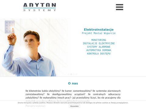 Adyton.net.pl - montaż alarmów Kraków